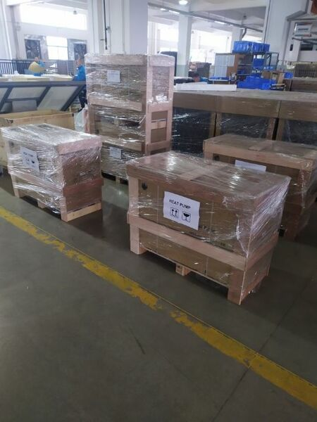 From the factory for the first tests A green venture capitalist has invested in the project. Now it's a matter of proving the concept. The first devices for it are being shipped at the factory right now. Picture 2